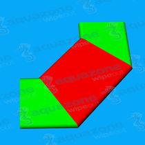 Mattress water toy / parks / platform / runway