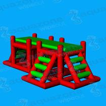 Climbing-wall water toy / mattress / platform / bridge