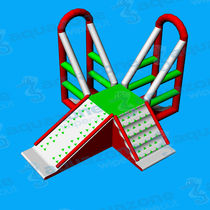 Seesaw water toy / pyramid / parks / climbing-wall