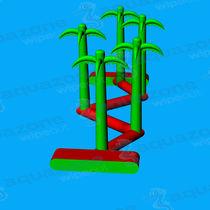 Mattress water toy / balance beam / runway / inflatable