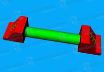 Parks water toy / buoy / bridge / balance beam