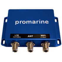 VHF antenna splitter / for boats