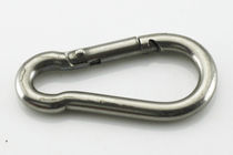 Sailboat hook / quick-release / for lashing chains