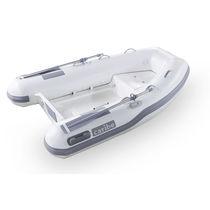 Outboard inflatable boat / semi-rigid / 4-person max.