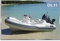 Outboard inflatable boat / semi-rigid / 5-person max.