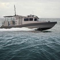 Inboard waterjet patrol boat / aluminum