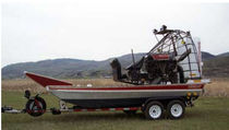 air-boat 17X8 WORK AMPHIBIOUS Canadian Airboats
