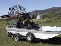 air-boat 16' X 8' Canadian Airboats
