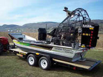 air-boat trailer  Canadian Airboats