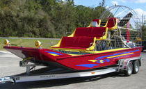 air-boat : passenger tour boat 18' TOUR Floral City Airboat