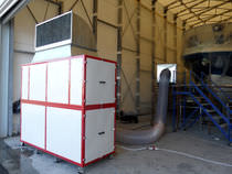 air extraction and filtering system (for boatyards and shipyards) PS1 Yachtgarage S.r.l.