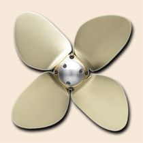 automatic feathering boat propeller (4 blades) BLUE WATER SPW