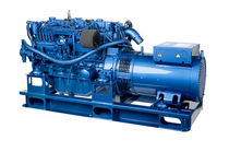 auxiliary diesel generator set for ships  Sole