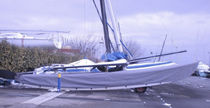 awning (for sport multihulls, HOBIE CAT 16) HULL Forward Sailing