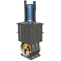 azimuth thruster for ships : Z-drive (retractable) 20 -&gt; 1000 KW Global Marine Engineering BV