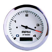 boat analog tachometer with engine hourmeter  Sole
