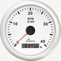 boat analog tachometer with engine hourmeter IMHB-WW-4KL Wema System
