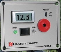 boat battery monitor DBM-1 Heater Craft