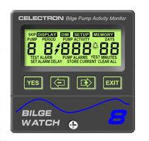 boat bilge monitoring and control panel (with alarm) BILGEWATCH 8 Celectron