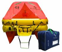 boat blue water liferaft (ISO 9650-1) 4 MAN Ocean Safety