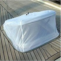 boat deck hatch flyscreen BP851 -> 860 Blue Performance Interfield Sports B.V.
