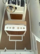 boat decking : synthetic teak batten panel HYBRID  TecaTek