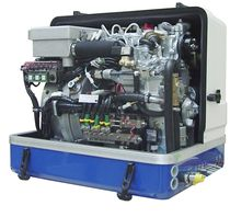 boat diesel generator (DC, with battery charge regulator) AGT-DDC 8000 PMS - 8KW/24V Fischer Panda