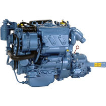 boat engine : in-board diesel engine 20 - 30 hp (indirect injection, natural aspiration) N3.21 (21 hp @ 3600 rpm) Nanni Industries