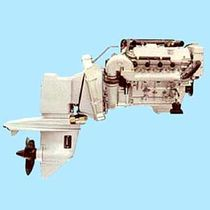 boat engine : 4 stroke in-board petrol engine 100 - 200 hp (stern-drive) B130 (120 hp @ 5500 rpm) BMW Marine