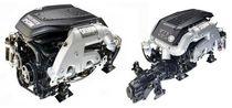 boat engine : 4 stroke in-board petrol engine 300 - 400 hp HO-303 (303 HP) PCM