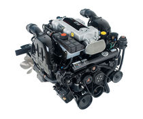 boat engine : 4 stroke in-board petrol engine 400 - 500 hp 8.2 HO DTS - 425 HP Mercury Mercruiser