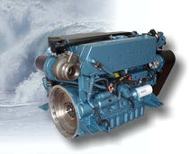boat engine : in-board diesel engine 100 - 200 hp (direct injection, turbocharged) M190C (190 HP @ 2100 RPM) Perkins Sabre