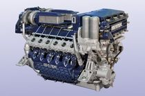 boat engine : in-board diesel engine 1000 - 2000 hp (direct injection, sequential turbocharger) 1300 / 1500 HP @ 2800 RPM SEATEK
