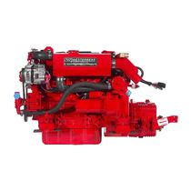boat engine : in-board diesel engine 30 - 40 hp (indirect injection, natural aspiration) 44C FOUR, 38HP (28.3kW) @ 3000 RPM Westerbeke