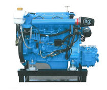 boat engine : in-board diesel engine 30 - 40 hp (indirect injection, natural aspiration) MP-437 | 37 HP Mermaid Marine Engines
