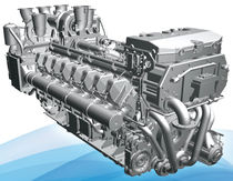boat engine : in-board diesel engine 3000 - 4000 hp (common-rail, sequential turbocharger) VL1716C1 (3486 HP @ 2100 RPM) ISOTTA FRASCHINI MOTORI