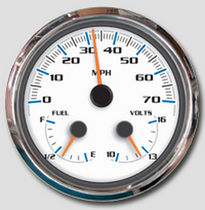 boat fuel gauge indicator MG 1000 Faria