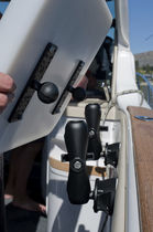 boat furniture : cockpit table Adjustable Tallon Marine