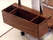 boat furniture : storage box  TeakFlex