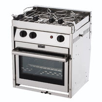 boat gas hob with oven (two burners)  Force10