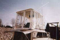 boat hard bimini top (custom-made)  nauticalcreations llc