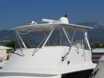 boat hard bimini top (custom-made) HALF TOWER Fantin Paolo
