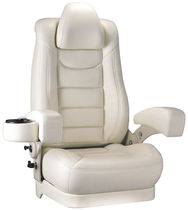 boat helm seat (adjustable, high back rest, with armrests) NAUTILUS SERIES 2 - 4BRNAU02 HelmChair.com By Llebroc Industries