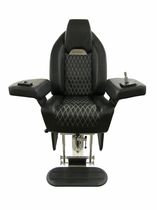 boat helm seat (adjustable, with armrests) P 242 SEAGULL Besenzoni