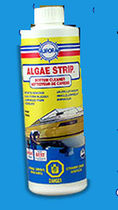 boat hull cleaner (for fiberglass) ALGAE STRIP Aurora