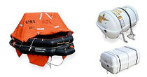 boat liferaft (throw overboard) SOLAS / ISO - 6PRS Duarry