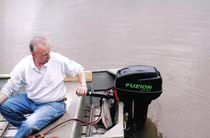 boat motor : electric outboard motor 2009 MODEL Griffin Leisure Boats Inc.