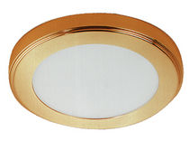 boat recessed downlight (LED, for interior lighting, brass) BIG PINE KEY (12-24-32-120-220V/40W) Daniel R. Smith & Associates