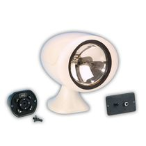 boat searchlight (halogen, remotely controlled) 61050 SERIES Jabsco