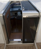 boat step down door  Tecnoinox
